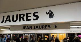Sation de métro Jean Jaurès à Toulouse